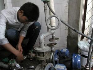 Sửa máy bơm nước Shimizu tại Hà Nội