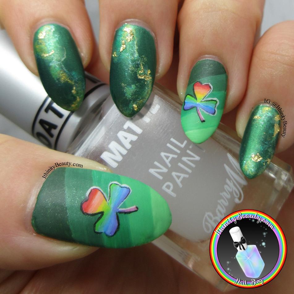 St Patrick\'s Day Nails | IthinityBeauty.com Nail Art Blog