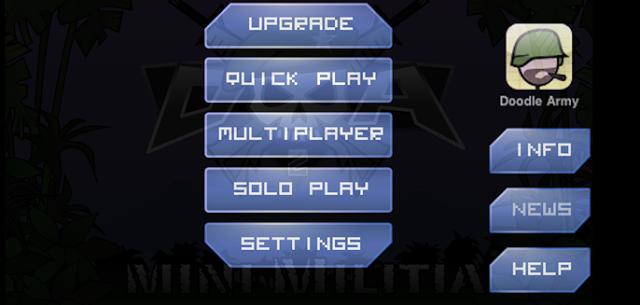 download Mini Militia pc