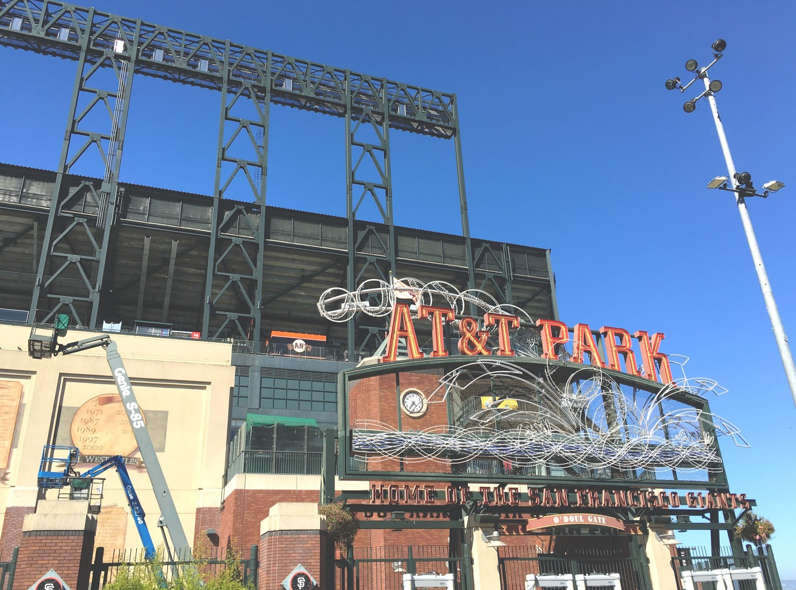 AT&T Park in San Francisco, California