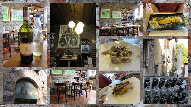 Weekend City Break in Bergamo Italy: Lunch at Ristorante La Tana