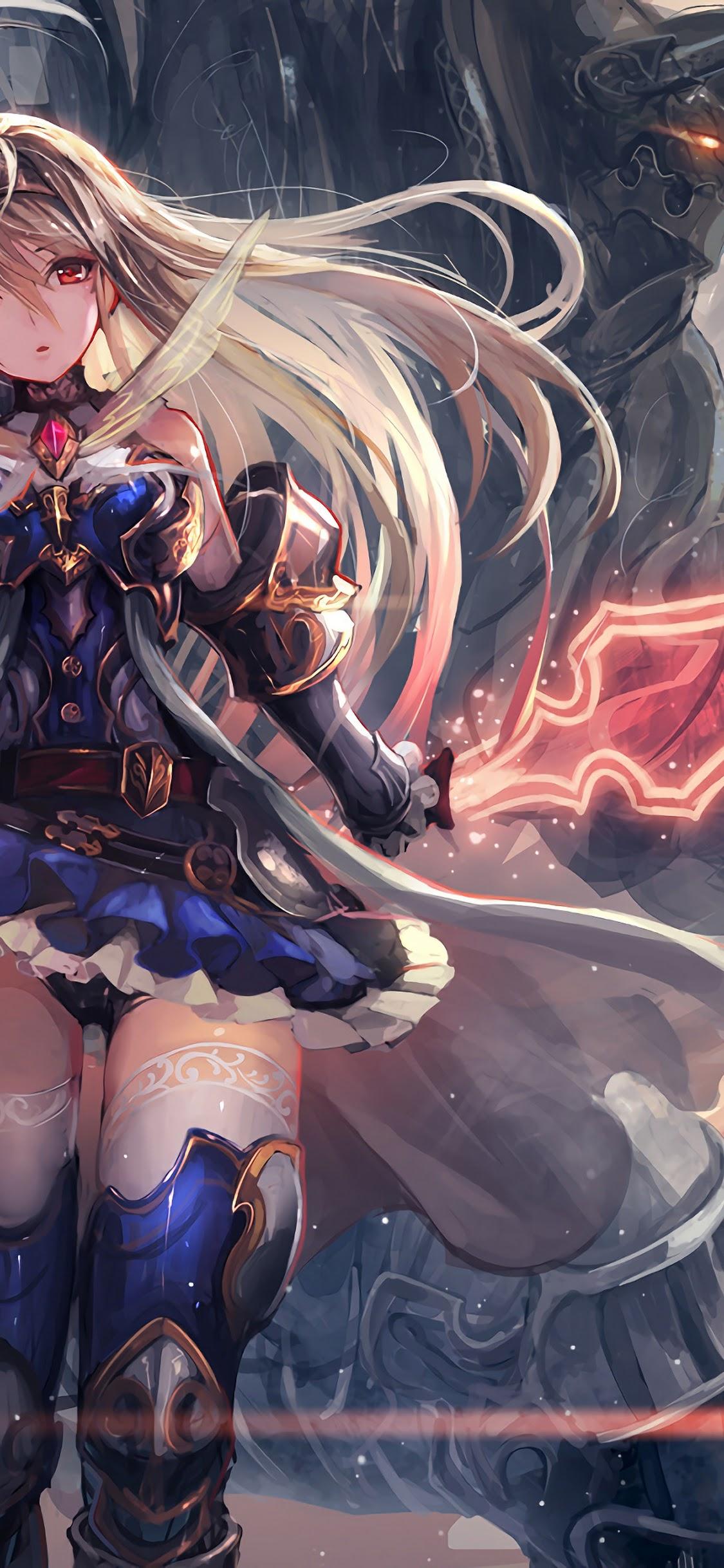 Anime Girl Fantasy Warrior 4k Wallpaper 83