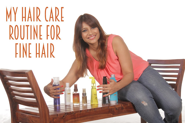 Ri(t)ch Styles Hair care routine for Fine Hair