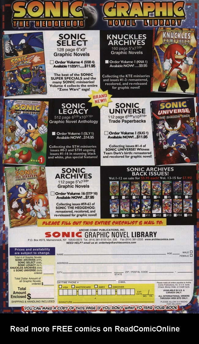 Read online Sonic The Hedgehog comic -  Issue #231 - 25