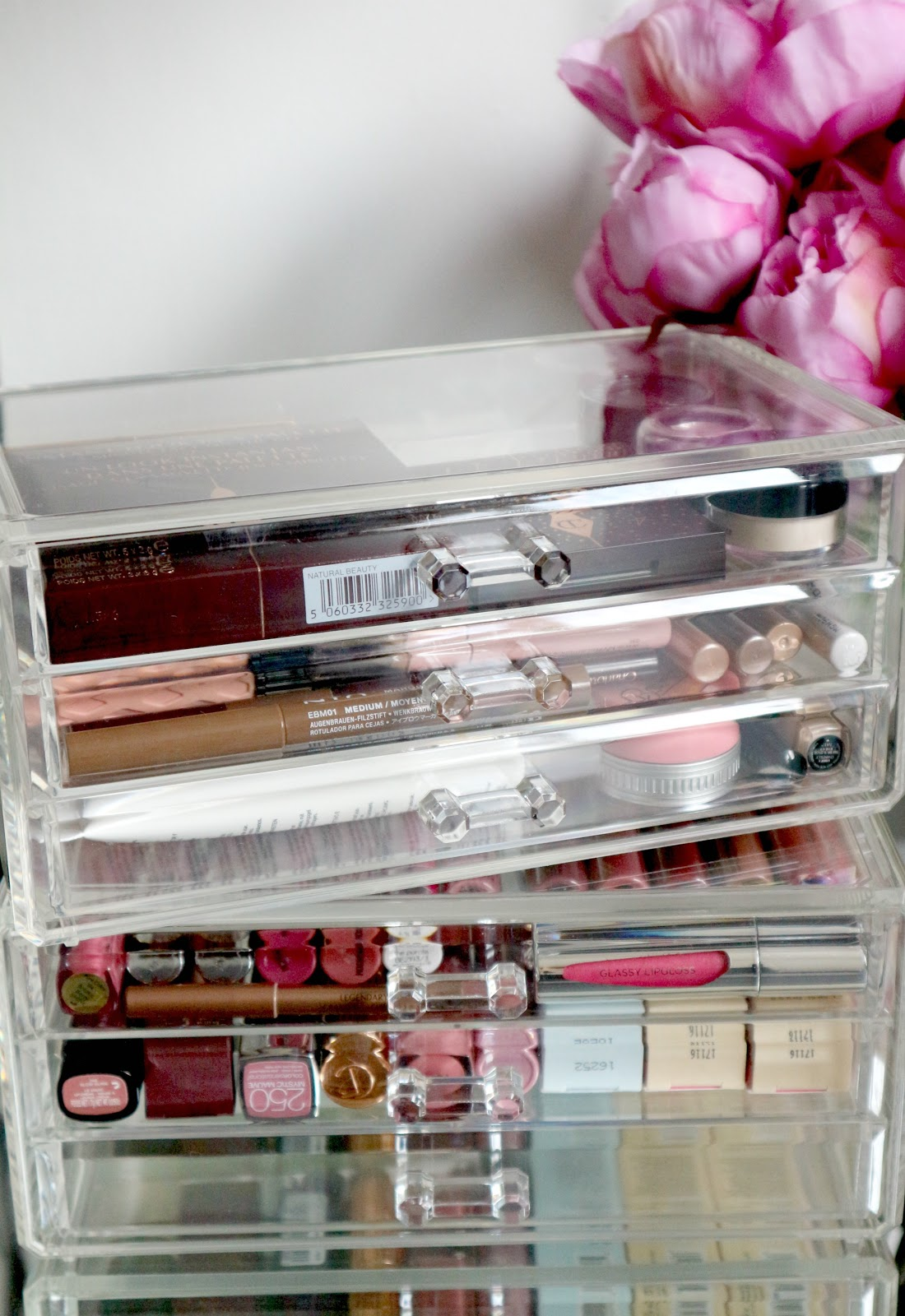 acrylic makeup drawers uk