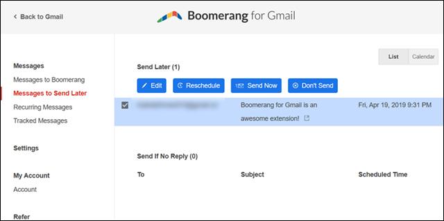 جدولة رسائل Gmail لإرسالها في وقت محدد على الكمبيوتر أو الهاتف 5