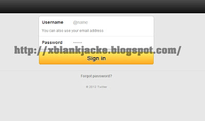Cara Mudah Hack Twitter 2013