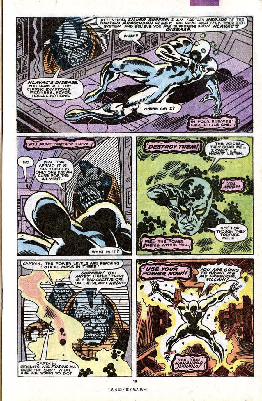 Read online Silver Surfer (1987) comic -  Issue #32 - 21