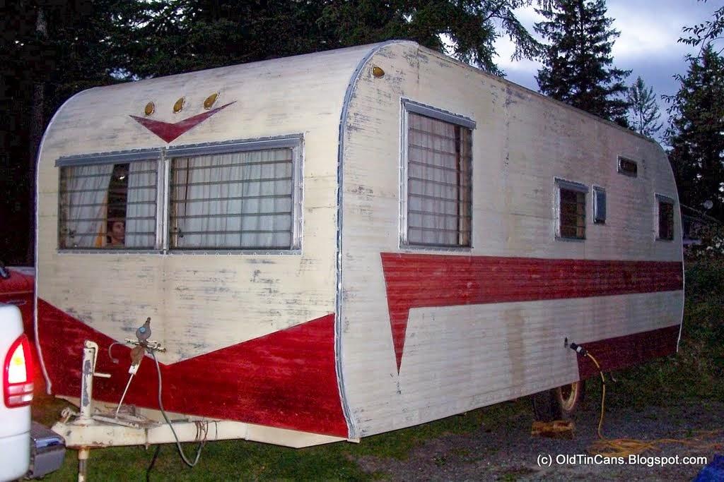 Vintage 1950 Terry Rambler Travel Trailer camper 95 ...  |1950s Vintage Travel Trailers Inside