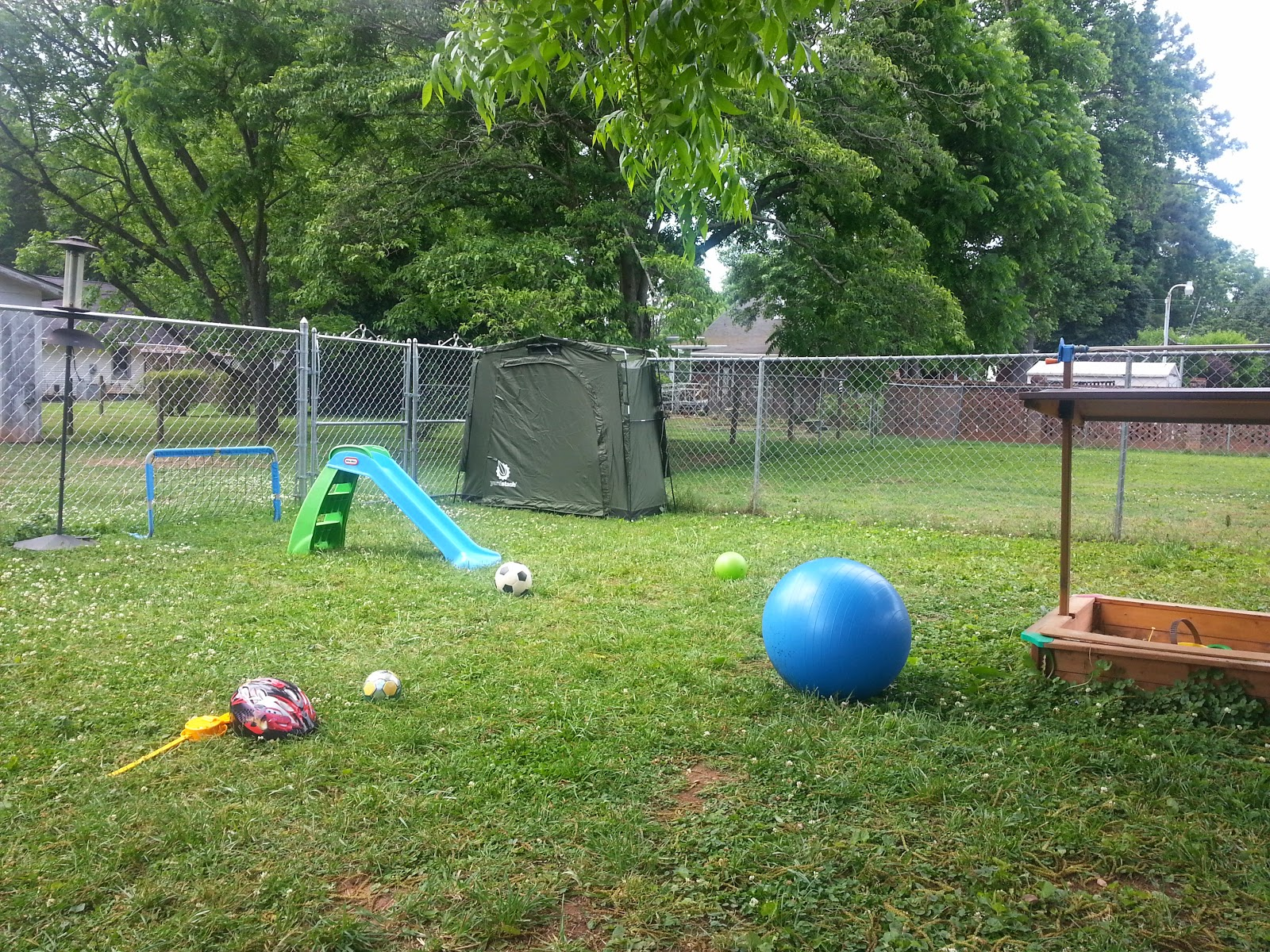Mommy s Block Party Stash Your Outdoor Gear & Reclaim Your Yard
