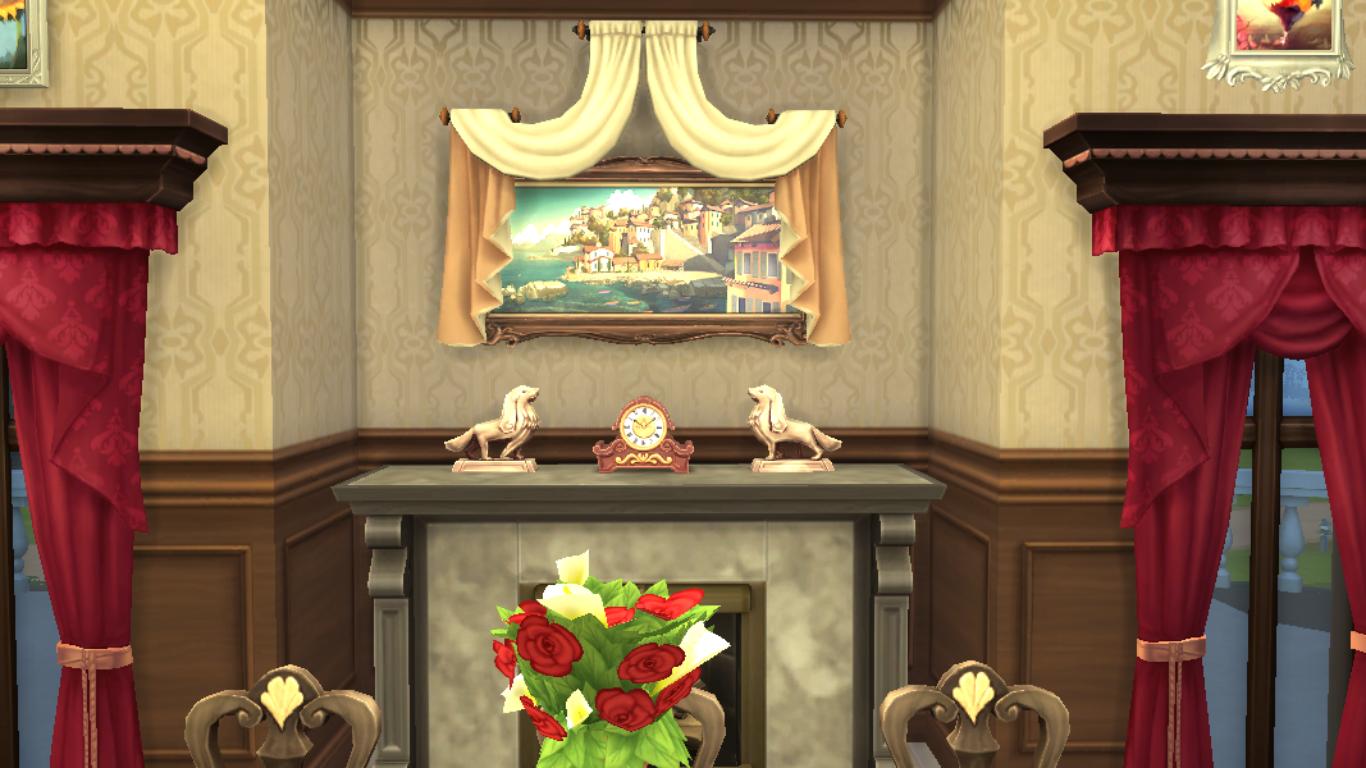 Sims 4 Dining Room,Sims 4 Room,Sims 4 Royal Dining Room