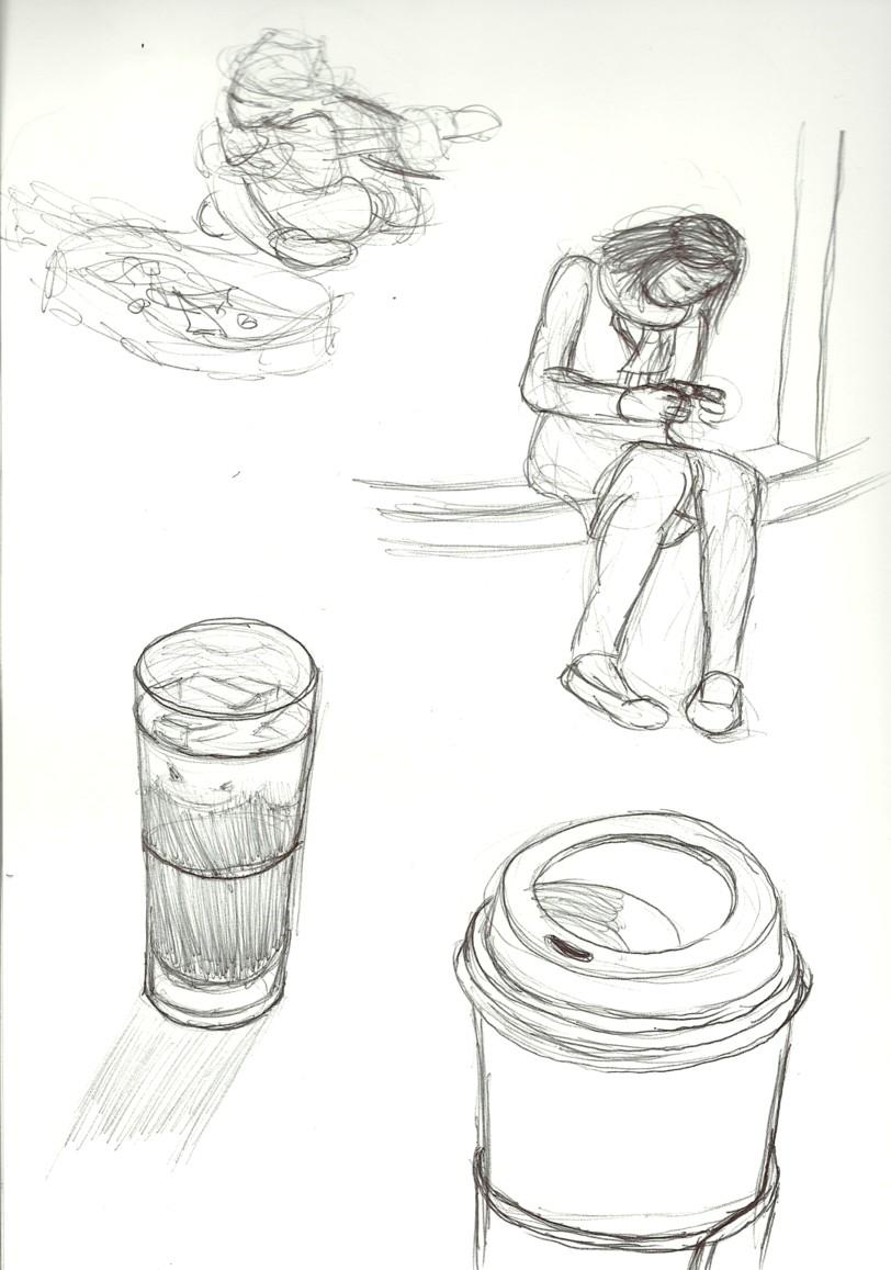 2011 Summer Drawing: Summer Drawing Day #58 & #60