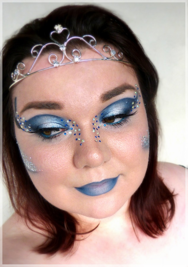 kreatives Ravenclaw Make up