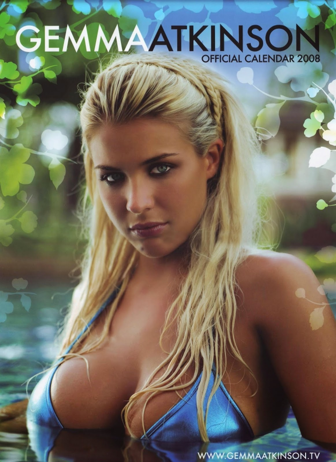 Gemma Atkinson Hot Bikini Calendar Photos Mega Gallery