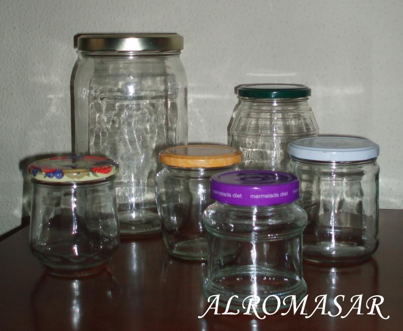 Alromasar tarros de cristal reciclados - Tarros de cristal con tapa ...