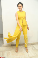 Taapsee Pannu looks mesmerizing in Yellow for her Telugu Movie Anando hma motion poster launch ~  Exclusive 077.JPG