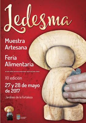 FERIA ARTESANA DE LEDESMA MAYO 17