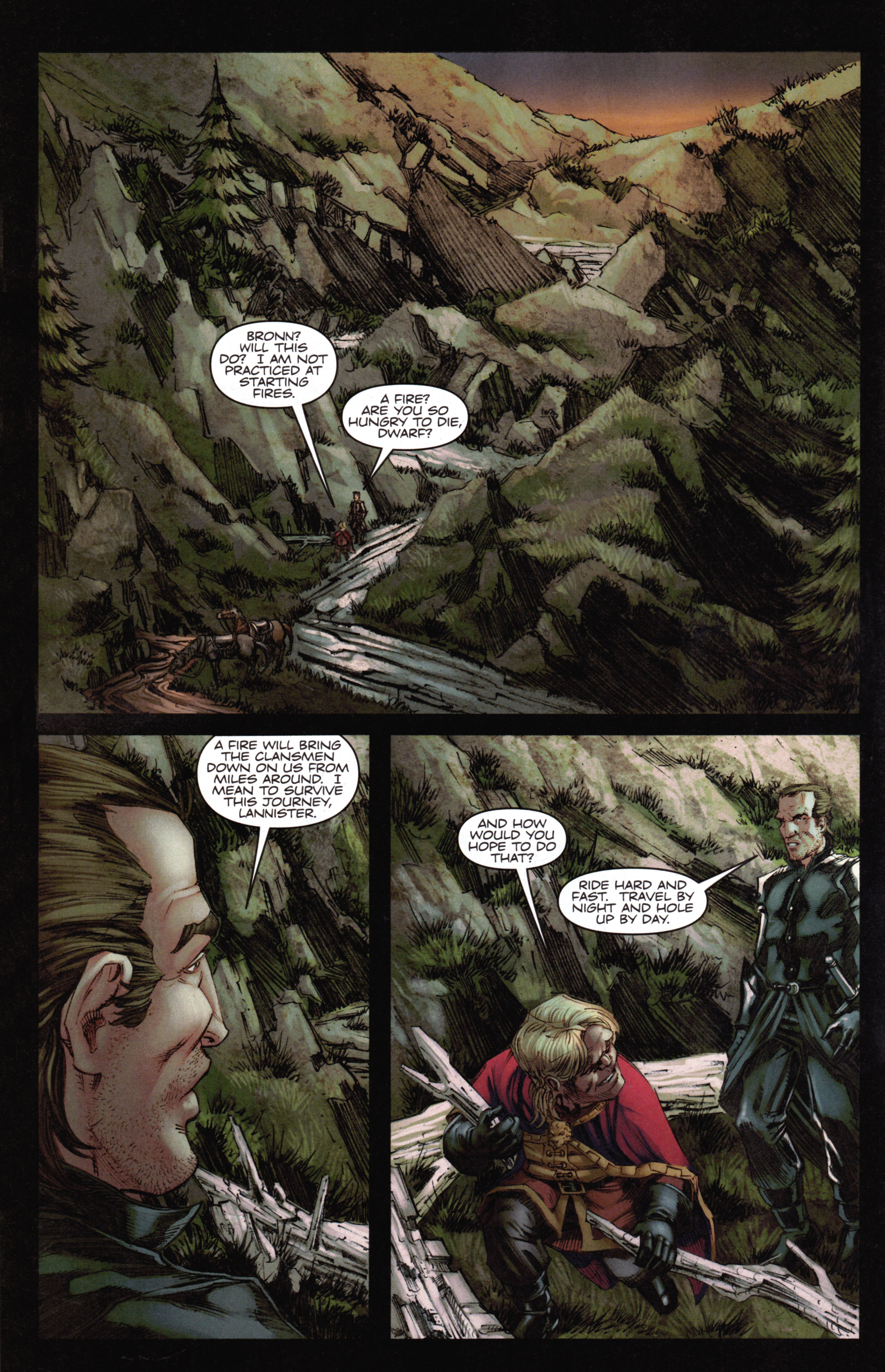 Read online A Game Of Thrones comic -  Issue #14 - 16