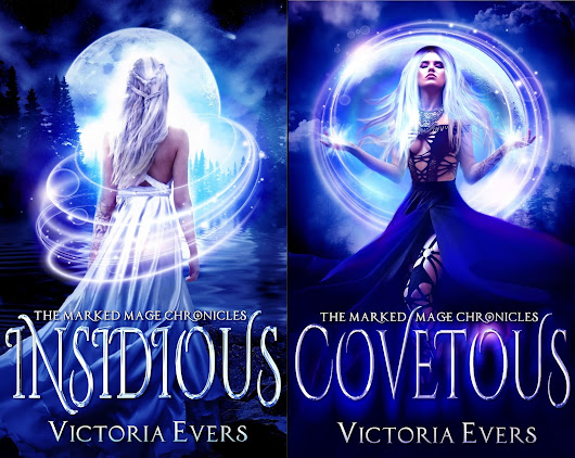 Cover Reveals: The Marked Mage Chronicles