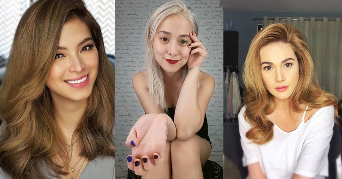 The Perfect Blonde Shade For A Pinay Like You Kikay Department