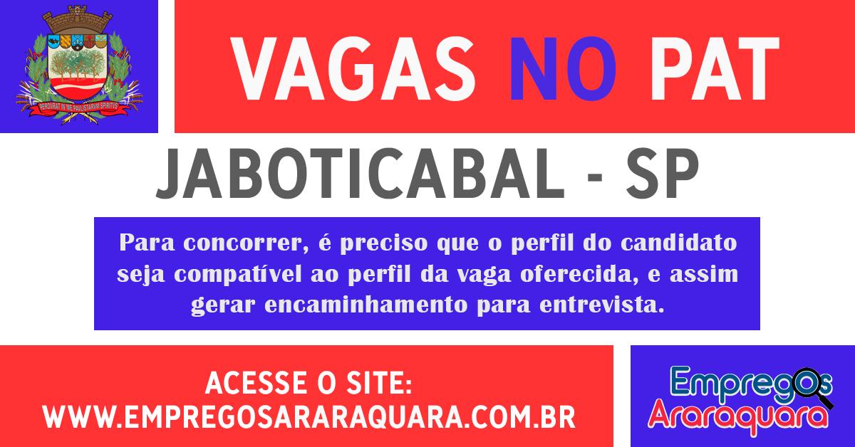 PAT JABOTICABAL