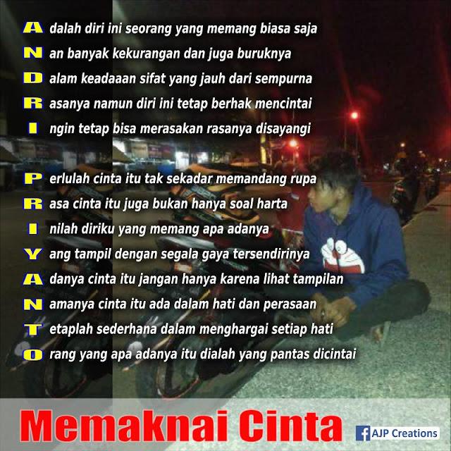 Andri Priyanto - Tema : Memaknai Cinta