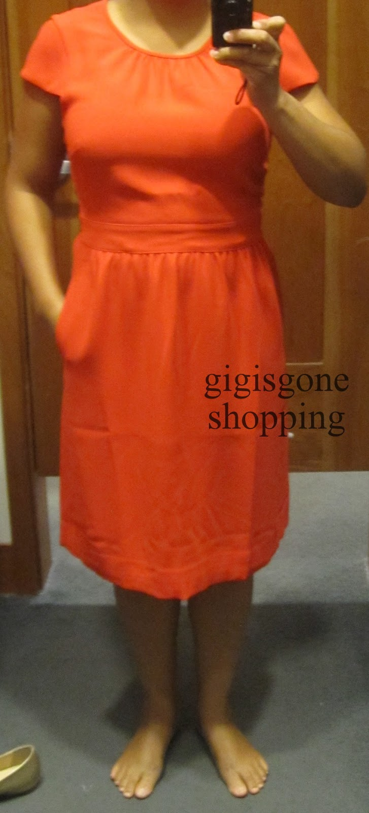 cd2388d1eec J Crew - crepe cap-sleeve dress - Gigi s Gone Shopping