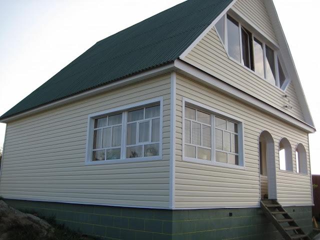 Вентилируемый фасад, монтаж сайдинга в Туле