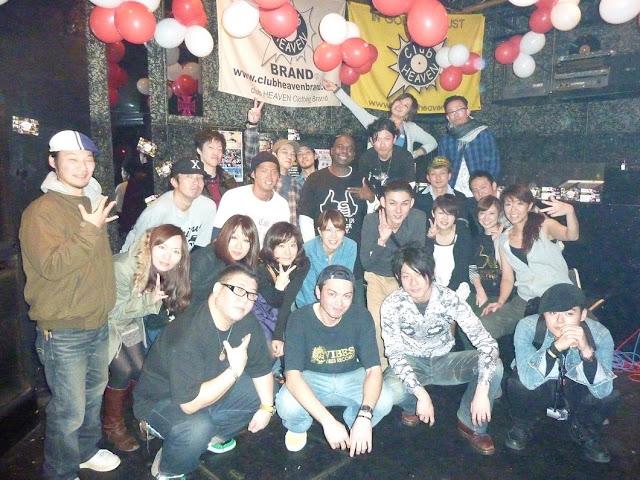 VIBESRECORDS DJ教室で開催したイベントの写真です。