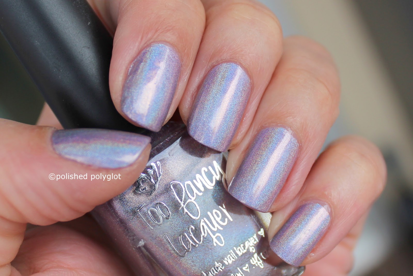 T is for Too fancy lacquer / Polished Polyglot