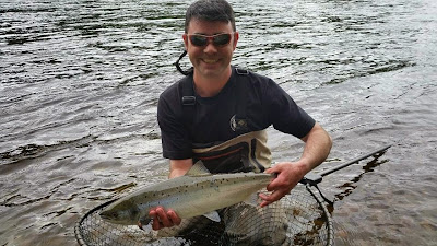 Salmon Fishing Scotland Tay, Perthshire, Scotland Salmon Fishing Report for week ending 16th August 2014.