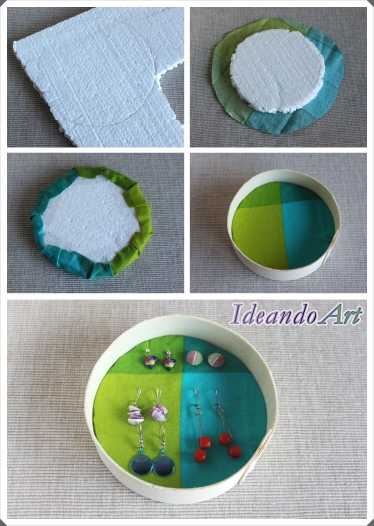 Tutorial joyero DIY