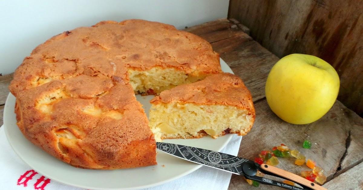 Cake Aux Pommes Et Fruits Confits