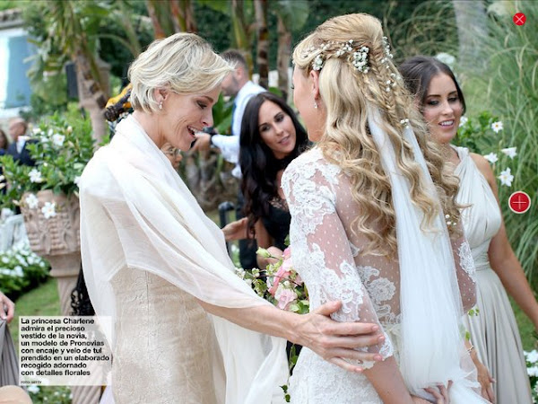 princess charlenes brother gareth wittstock marries in