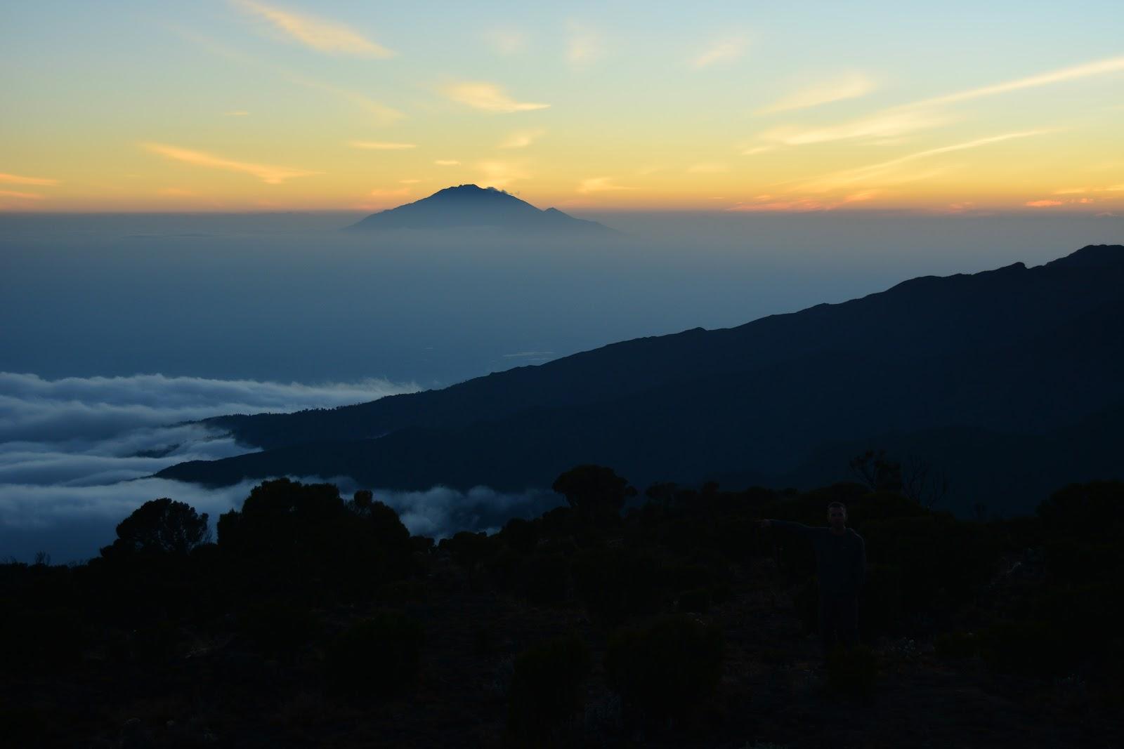 sunset, kilimanjaro, mountain, tanzania, childreach international, africa, challenge, fundraising, travel, abroad, zanzibar