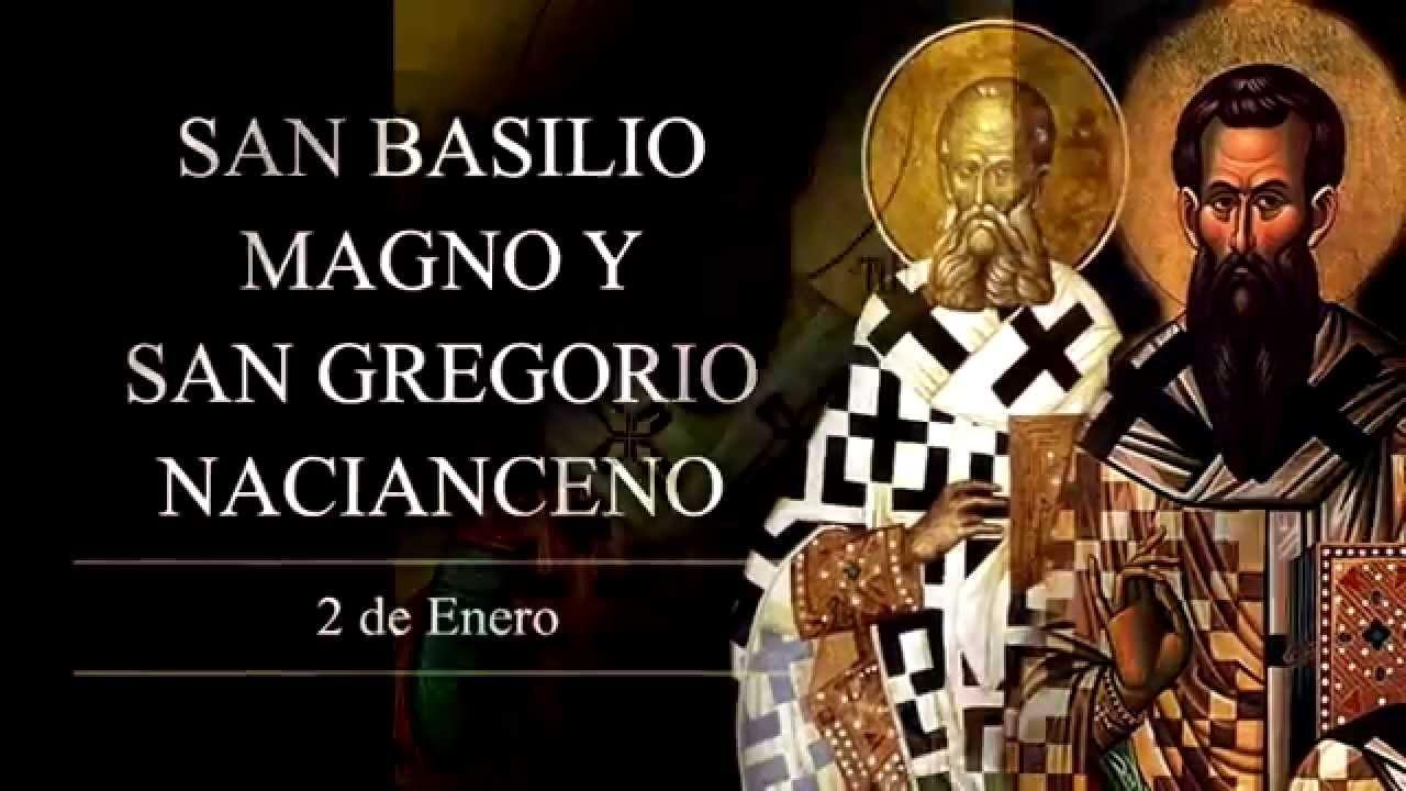 Católico Defiende Tu Fe San Basilio Magno Y San Gregorio