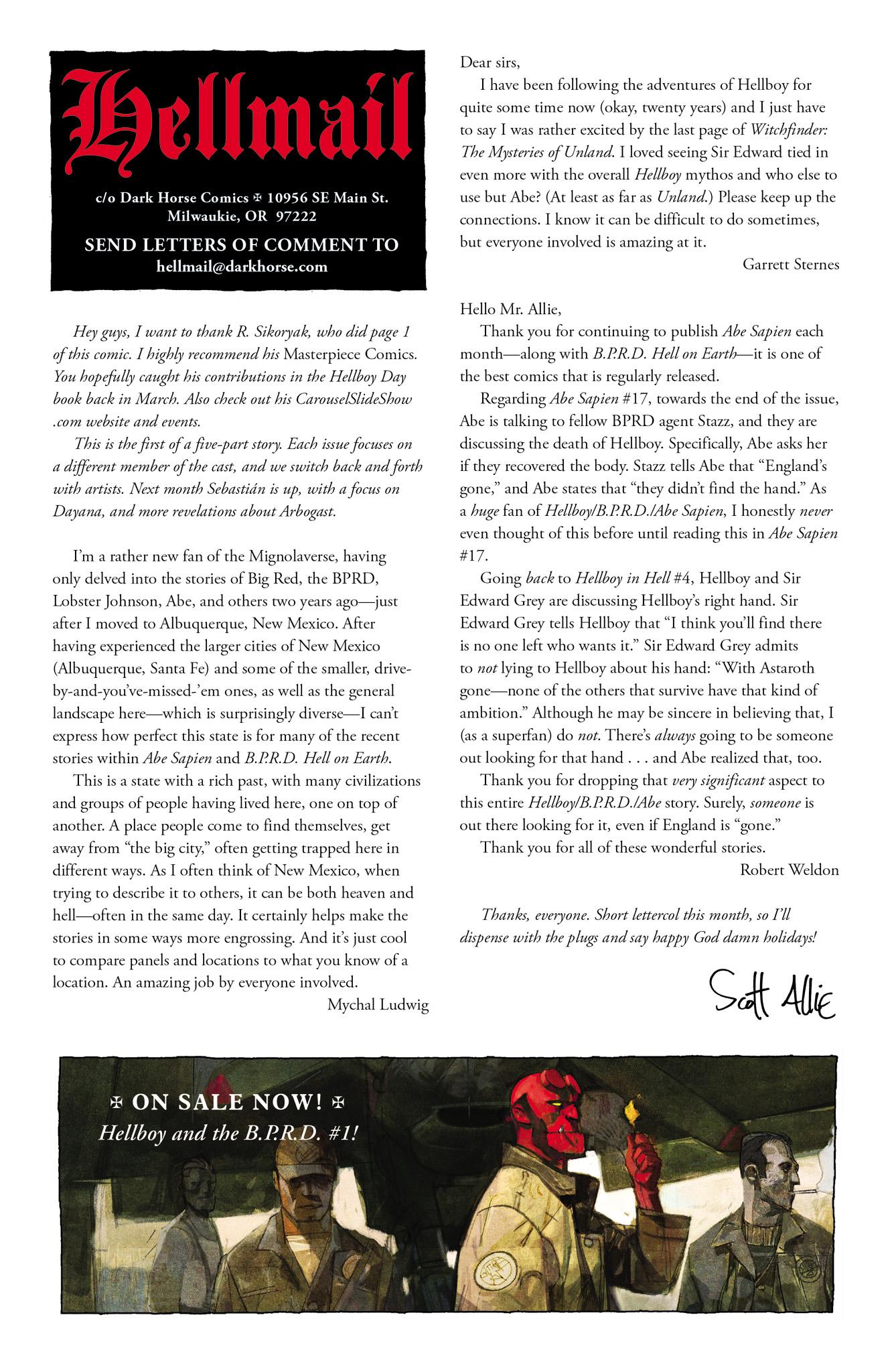 Read online Abe Sapien comic -  Issue #18 - 25