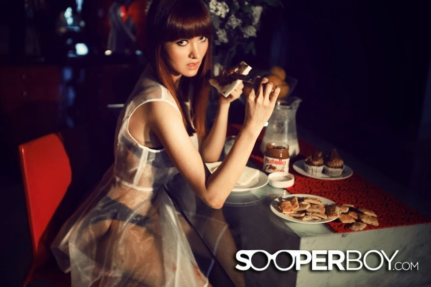 Chrysania Chirta Dewi for Sooperboy February 2014