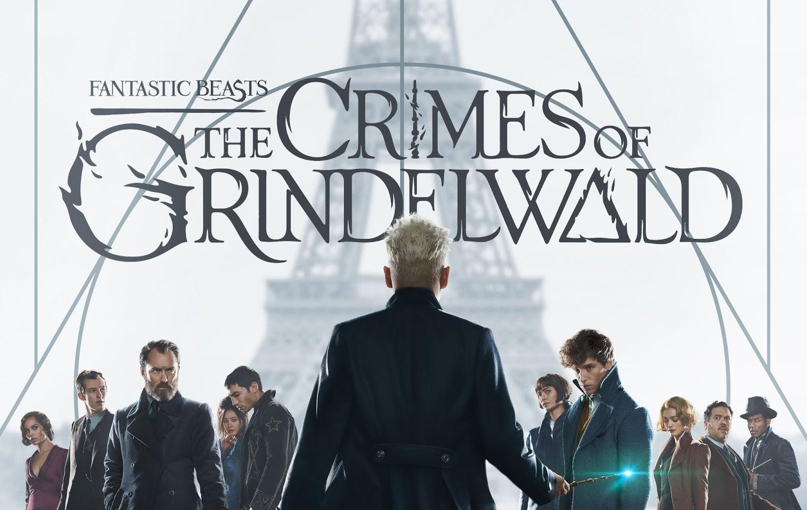 Novo poster de crimes de Grindelwald