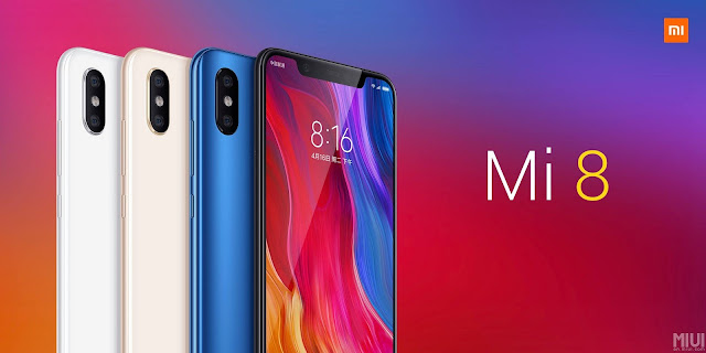Xiaomi Mi 8 Powered By Snapdragon 845, Equipped with 3D Face Unlock