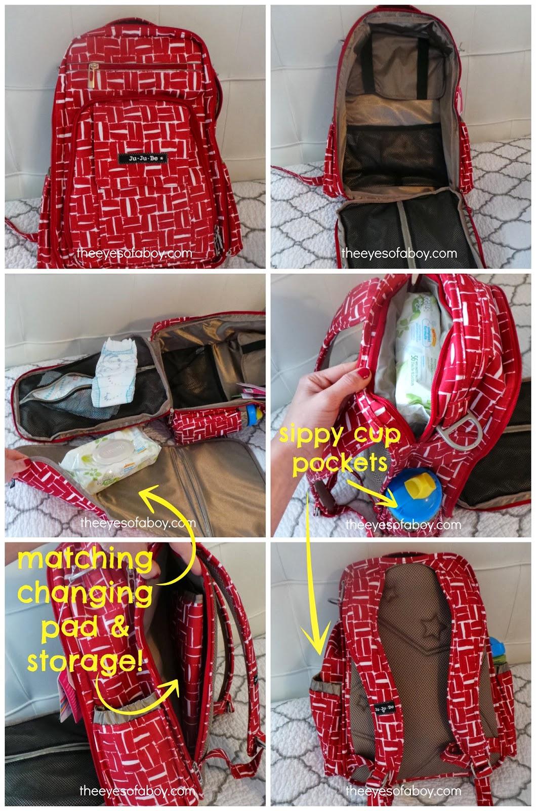 4a94c8e8b71b My Favorite Diaper Bag  Ju-Ju-Be Be Right Back Backpack Diaper Bag ...