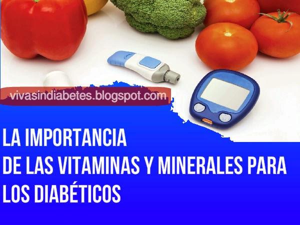 Las Vitaminas y Minerales más importantes para los