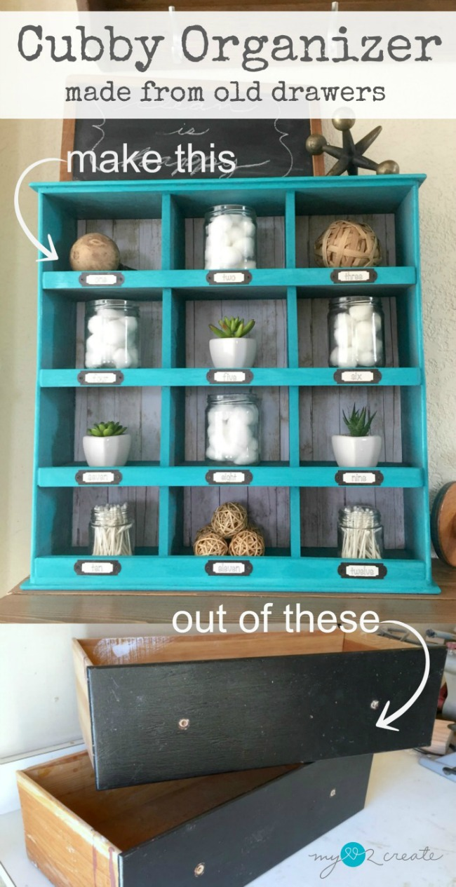cool ways to repurpose drawers, MyLove2Create