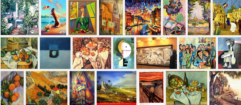 تعريف الفن التشكيلي مدراس الفن