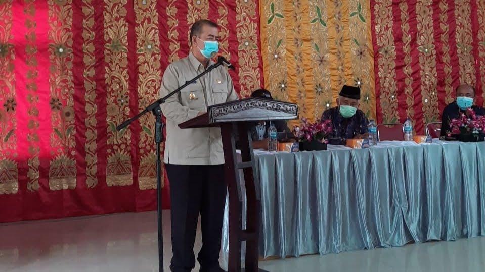 Sambangi Nagari Talu, Wagub Sosialisasikan Perda AKB.