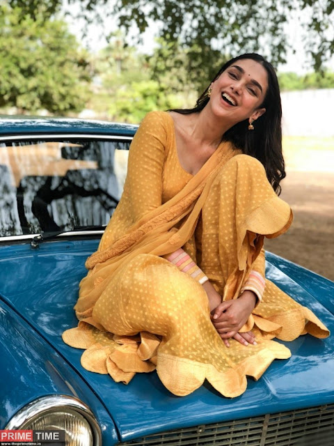 Sufiyum sujathayum actress Aditi Rao Hydari