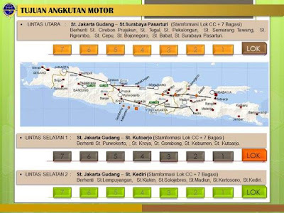 Rute Angkutan Sepeda Motor Gratis Departemen Perhubungan