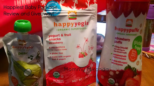 Baby's First Foods {A Happy Family Review and Giveaway}