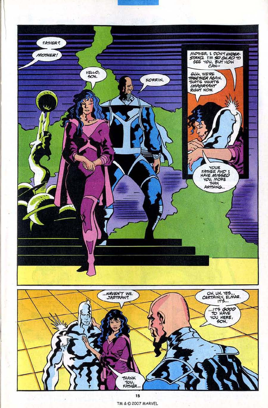 Read online Silver Surfer (1987) comic -  Issue #84 - 17