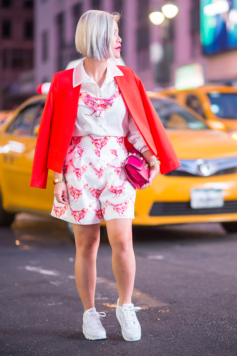 New York Fashion Week 2015- Crystal Phuong- Street style